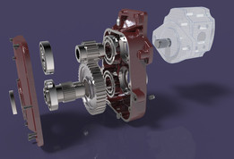 TRACTOR POWER TAKE OFF GEARBOX