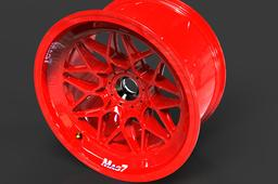 Racing Light Alloy Wheel Rim 18x10 (Front)