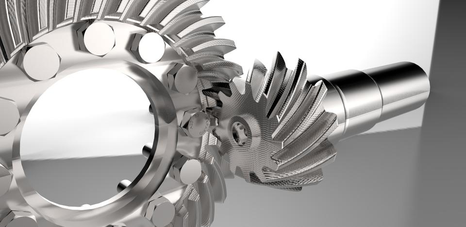 Spiral Bevel Gear M11 B35 | 3D CAD Model Library | GrabCAD