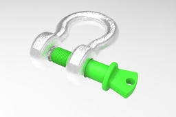 Bow shackle WLL 12 T
