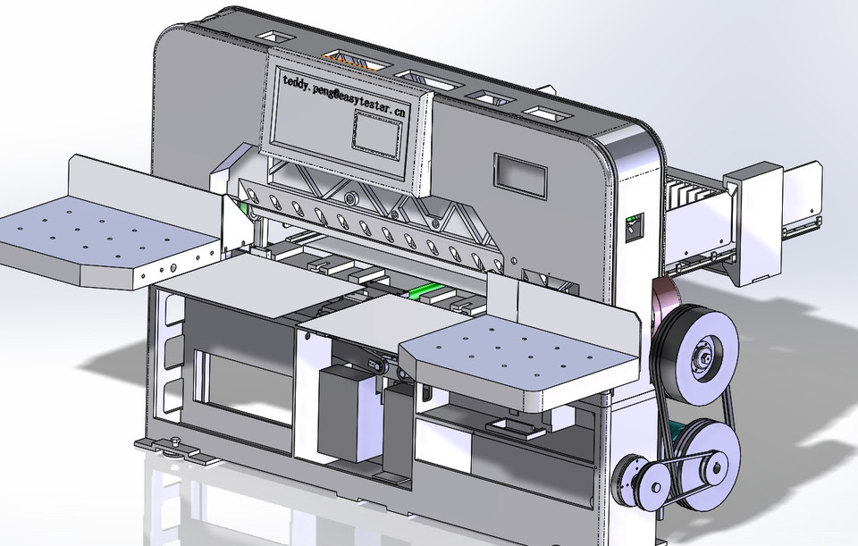 Paper Cutting Machine | 3D CAD Model Library | GrabCAD