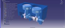 2 cylinder simulation