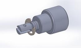 """STA Mini  Pull Magnetic Latching Solenoid — 1/2"""" Dia. x 1/2"""""""