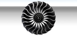 Another Fan for High-Bypass Turbofan. (9:1 ratio)