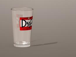 Duff Beer Glass