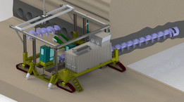 Coal Auger concept 2010