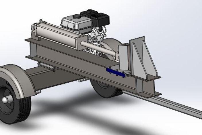 log splitter design