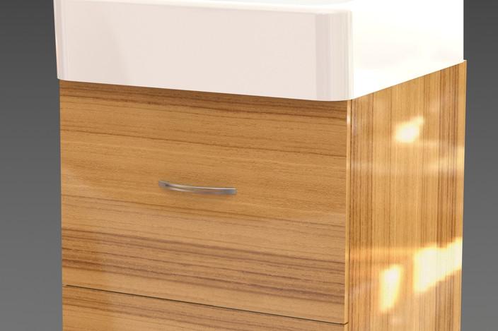 meuble salle d 39 eau solidworks 3d cad model grabcad