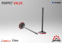 Motor Cycle Engine Internal Setup - Poppet Valve