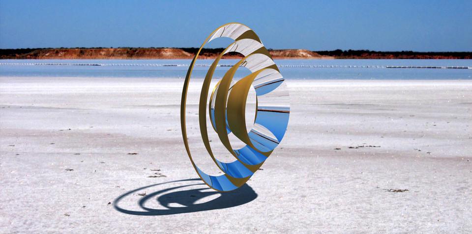 ring array solar concentrator mirror iges catia
