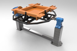 concept  device for welding a chassis