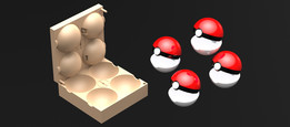 Mold for Pokeballs | TRINOTA