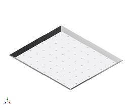 Bandeja perforada -  tray sheet metal