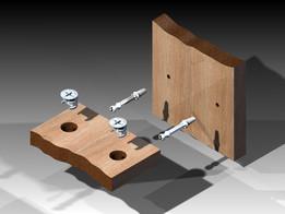 Cam Lock Furniture Fitting