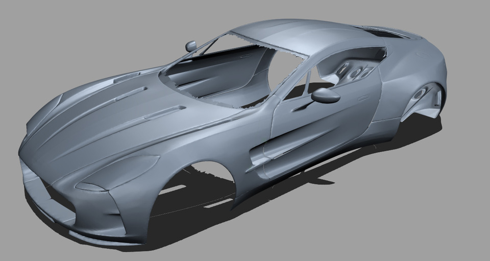 Aston Martin One 77 3d Scan | 3D CAD Model Library | GrabCAD