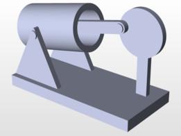 oscillating cylinder