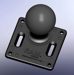 "RAM 2.25"" Ball 75mm VESA Mount"