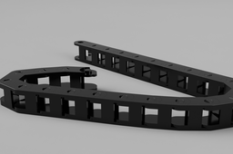 Fusion 360 Cable Drag Chain with functioning joints