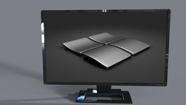 HP Monitor (HP Bildschirm)