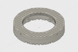 LEGO Compatible Large Thrust Ball Bearing