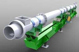 Tubular vibratory conveyor