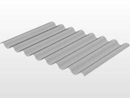 plaque pvc 67x90 translucide (plaque de 2m coupe en 3)
