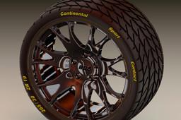 Wheel Rim Felge BBS 9,5 x 19