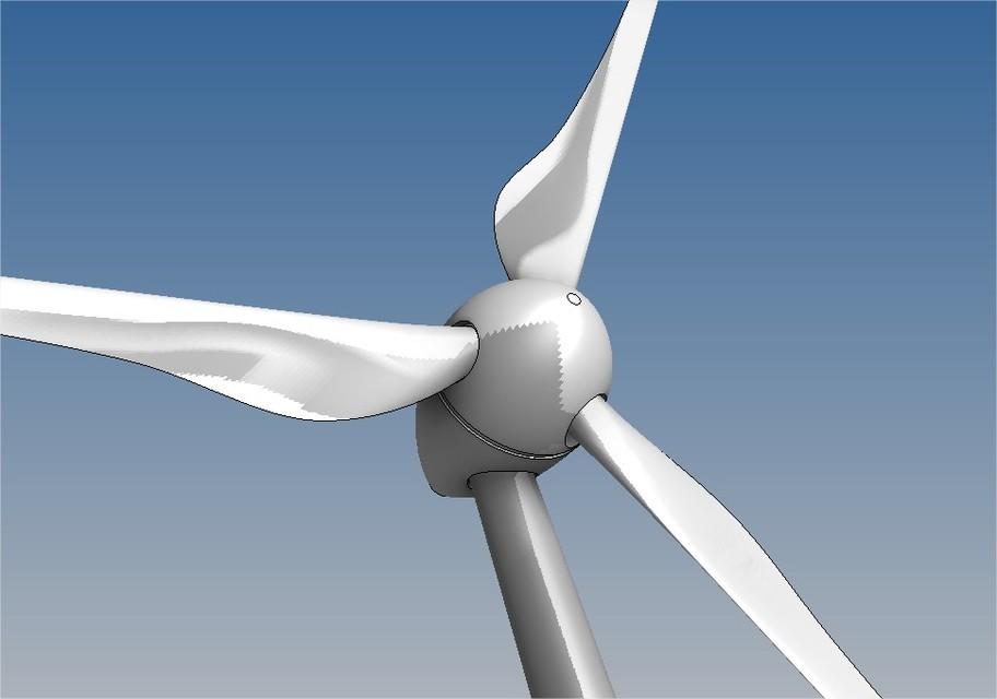 Wind Turbine | 3D CAD Model Library | GrabCAD