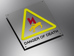 warning electricty danger sign