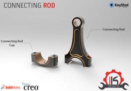 Motor Cycle Engine Internal Setup - Connecting Rod