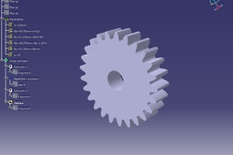 Simple Parametric Sprug Gear