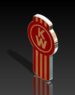 Emblem Kenworth Trucks