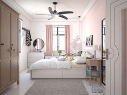 Small modern Bedroom