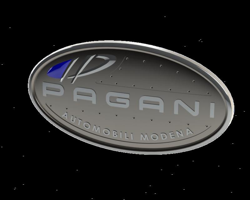 Pagani Logo | 3D CAD Model Library | GrabCAD
