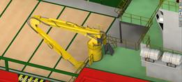 Crane for Anchor Handling TUG