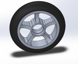Scooter wheel