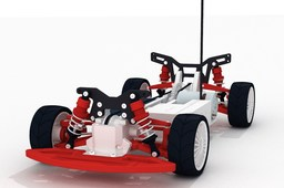 OpenRC 1:10 4WD Touring Concept RC Car (3D printable)