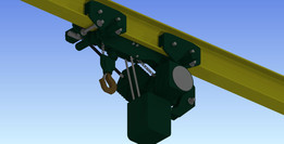 JDN Low Headroom Trolley Hoist 1 Tonne
