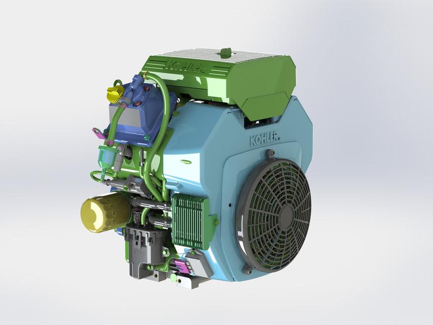 Kohler Engine | 3D CAD Model Library | GrabCAD