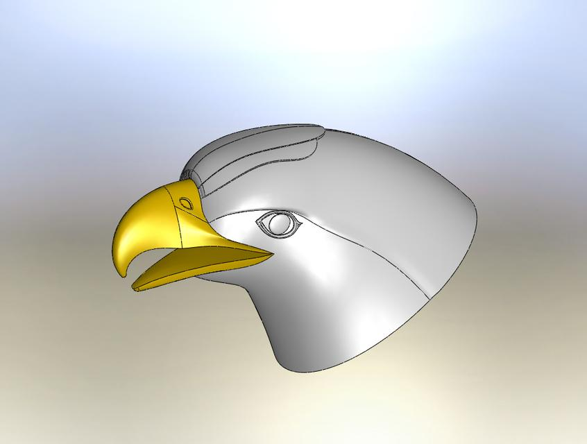 eagle | 3D CAD Model Library | GrabCAD