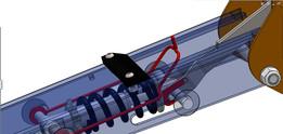 Stabilizer Leg Suspension