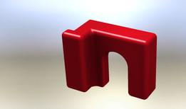 3D Printed Door Latch