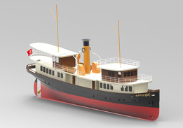 """""""Gonca"""" Old Style Yacht"""