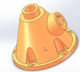 hollow cone seat
