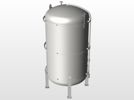 thermal stores storage vessel