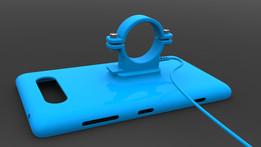 Nokia Lumia 820 bicycle handlebar mount/charger