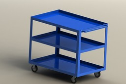Shelf cart.