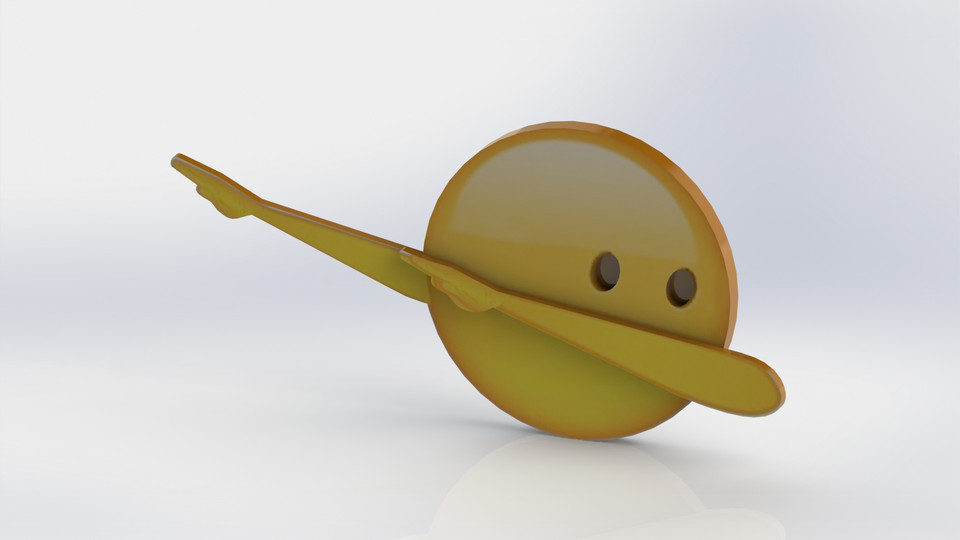 how to get the dab emoji