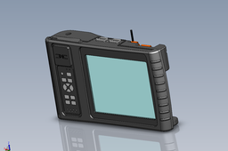 Biometric Ruggedized Military Tablet with Detachable Hard Disk Drive