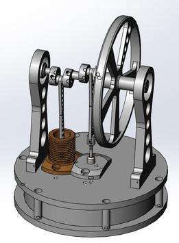 LTD stirling engine